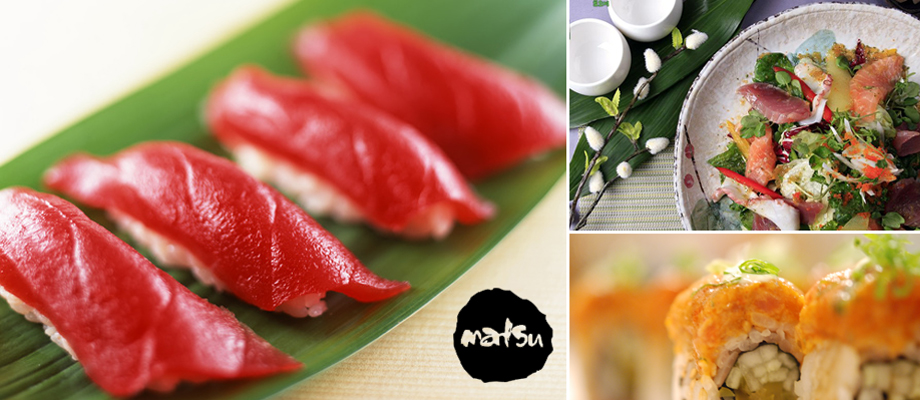 Matsu japanese restaurant top quality best tasting sushi for Asian cuisine hours
